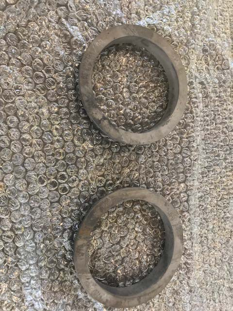 Recuperação de peças de ferro fundido